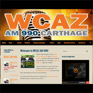 WCAZ AM 90, Carthage, Illinois