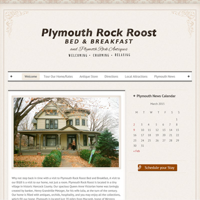 Plymouth Rock Roost Bed & Breakfast - Plymouth, Illinois