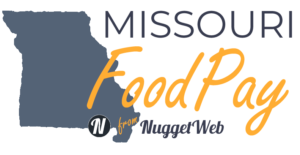 Logo for Missouri FoodPay by NuggetWeb.com